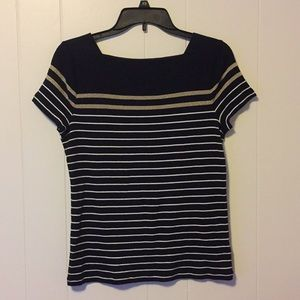 Chaps Women's Stripes Tops